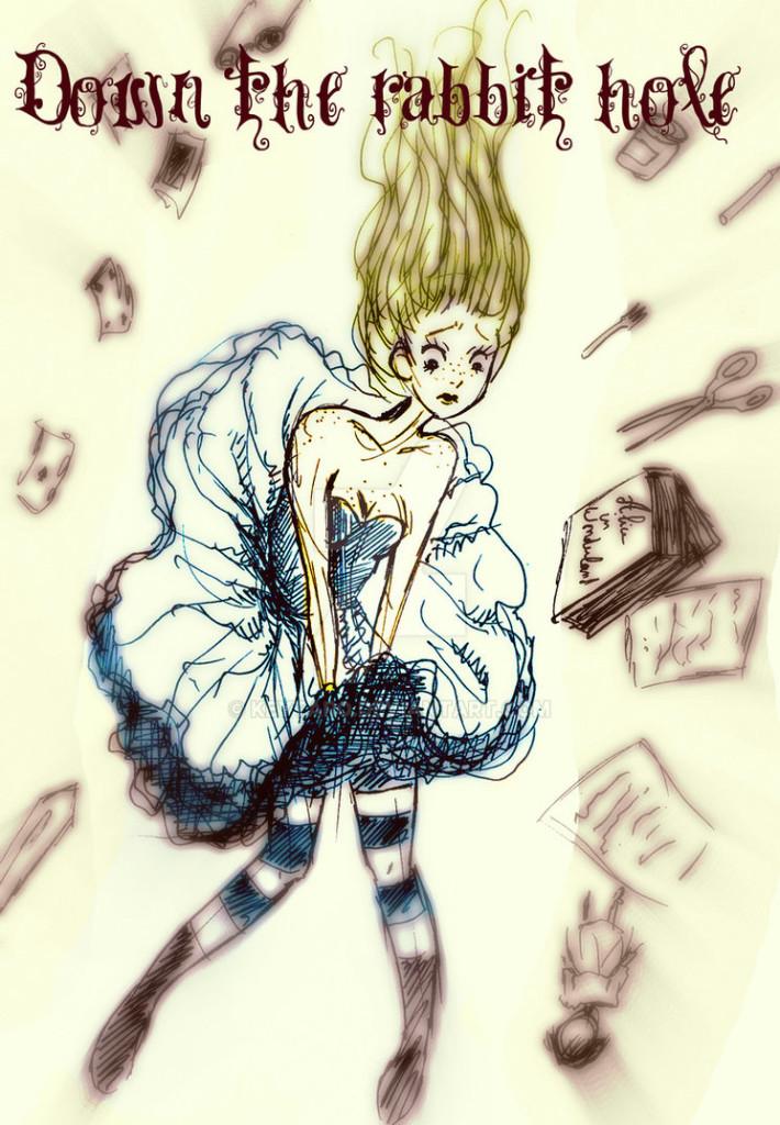 falling alice by keytaro