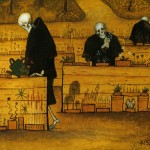 Hugo Simberg, The garden of death, François Bon